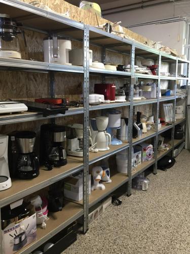 Kaffemaskiner og andre el artikler